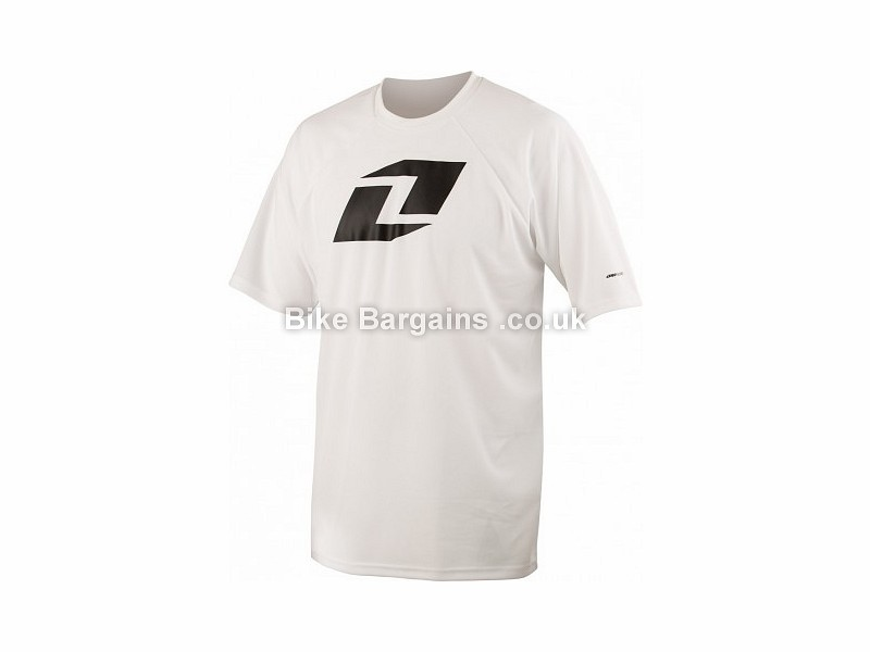 One Industries Ion MTB Short Sleeve Jersey S, White