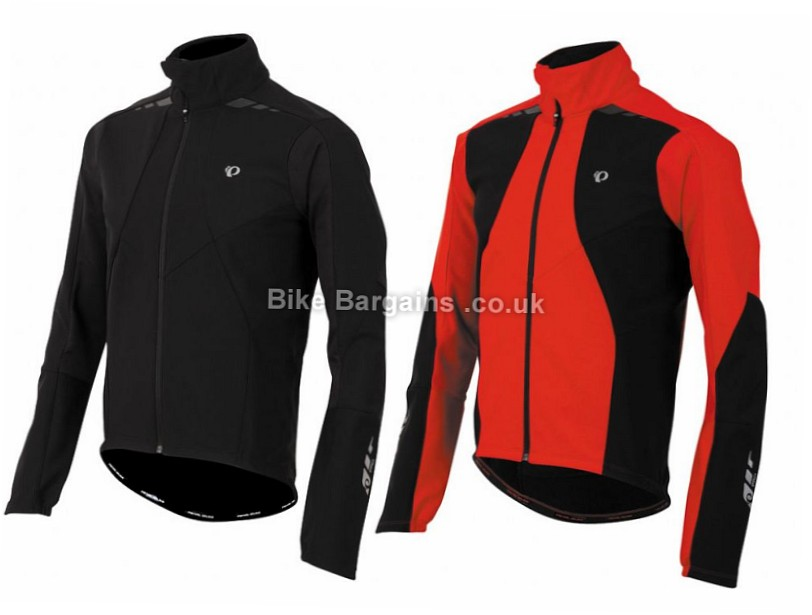 Pearl Izumi Pro Softshell 180 Thermal Cycling Jacket S,M,L,XL, Red,Black