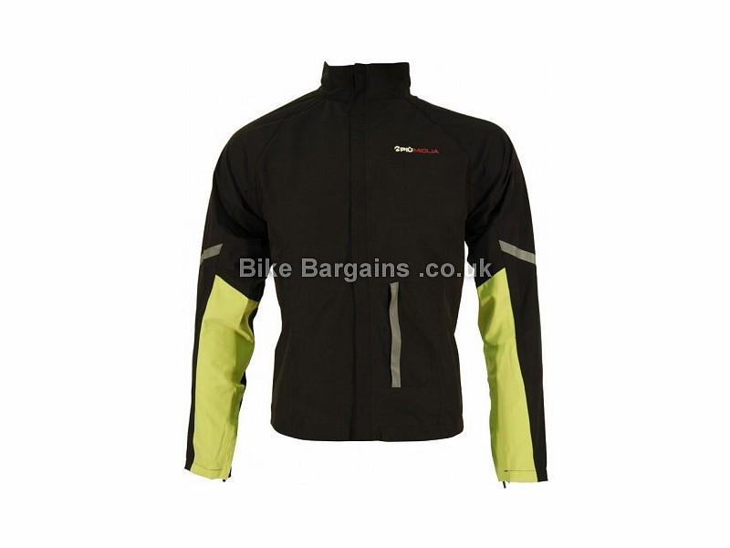 Piu Miglia Ladies Waterproof Cycling Jacket Black, XS,M,L,XL,XXL
