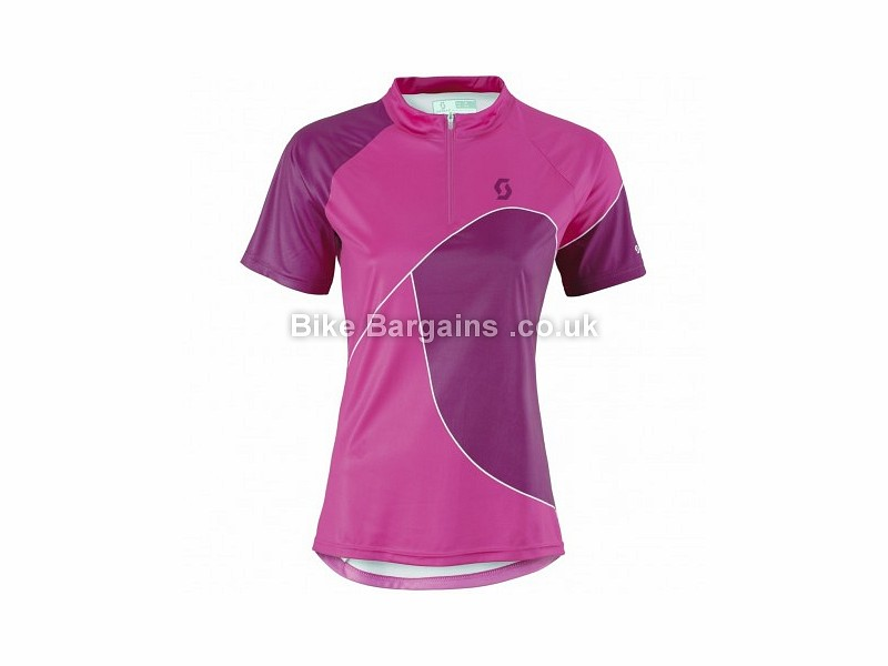 Clothing, Shoes & Accessories Purple Scott Trail 50 Short Sleeve Womens Cycling Jersey Cycling Clothing