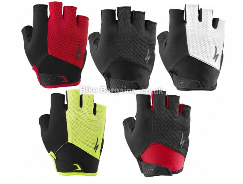 Specialized Body Geometry Gel Sport Cycling Mitts 2015 S,L,XL,XXL, Black,Red