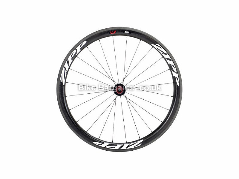 Zipp 303 Firecrest Carbon Aero Tubular Rear Road Wheel 2015 Black, White, Campagnolo, 10 speed, 11 speed