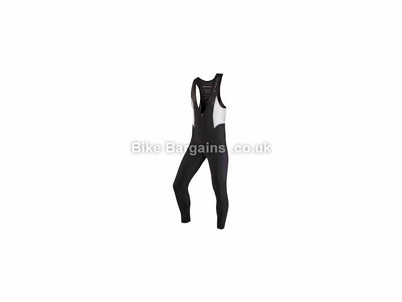 Endura Stealth Lite II Road Cycling Bib Tights Black, White, S