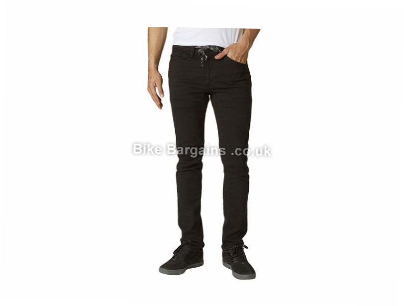 "Fox Racing Dagger Casual Jeans 32"", 34"", Black"
