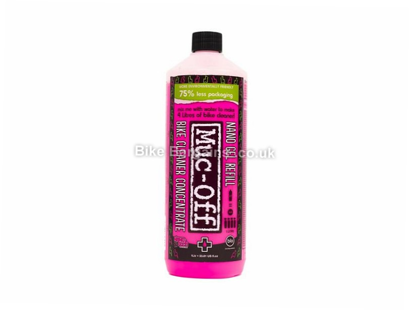 Muc-Off Bike Cleaner Concentrate 1 Litre Bottle 1 Litre - makes 4 Litres of Bike Cleaner