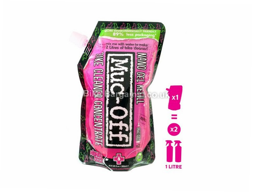 Muc-Off Bike Cleaner Concentrate 500ml Bottle 500ml - makes 2 Litres of Bike Cleaner