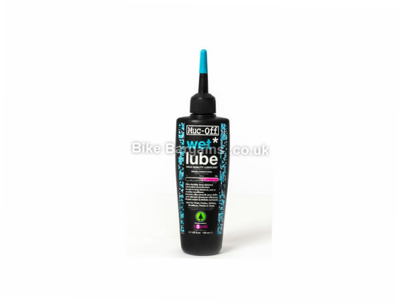 Muc-Off Wet Lube 120ml Bottle 120ml, race quality lube
