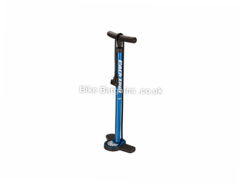 Park Tool PFP8 Home Mechanic Floor Pump 160psi, Presta, Schrader, Dunlop valves