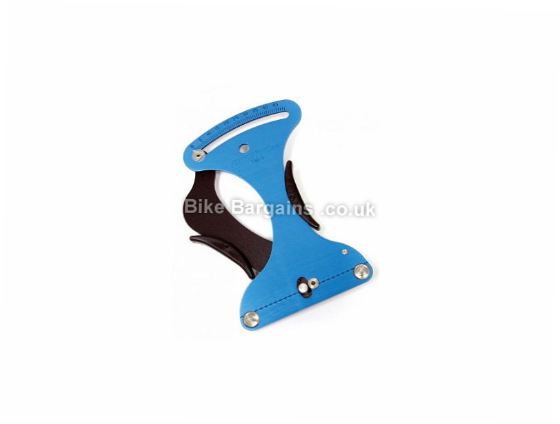 Park Tool TM-1 Spoke Tension Meter Blue, fits any shape spoke