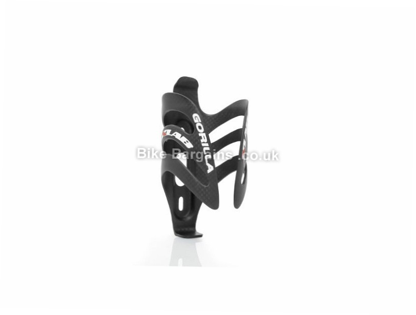 XLAB Gorilla Carbon Bottle Cage Black, Carbon