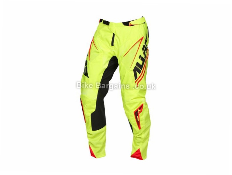 "Alias A1 Analogue DH MTB Pants 36"", Black, Orange,"