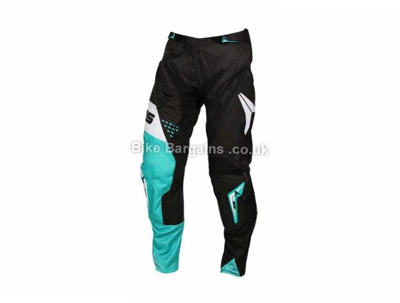 """Alias A1 Standard DH MTB Pants 32"""", Blue, White"""