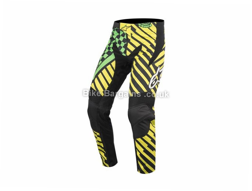 "Alpinestars Sight Speedster DH MTB Pants 24"", Red, Blue, Green, Yellow"