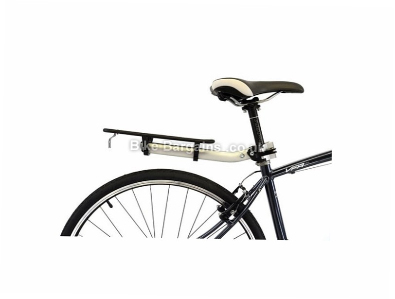 Axiom Flip-Flop LX Seat Post Pannier Rack Black, 325mm, 125mm