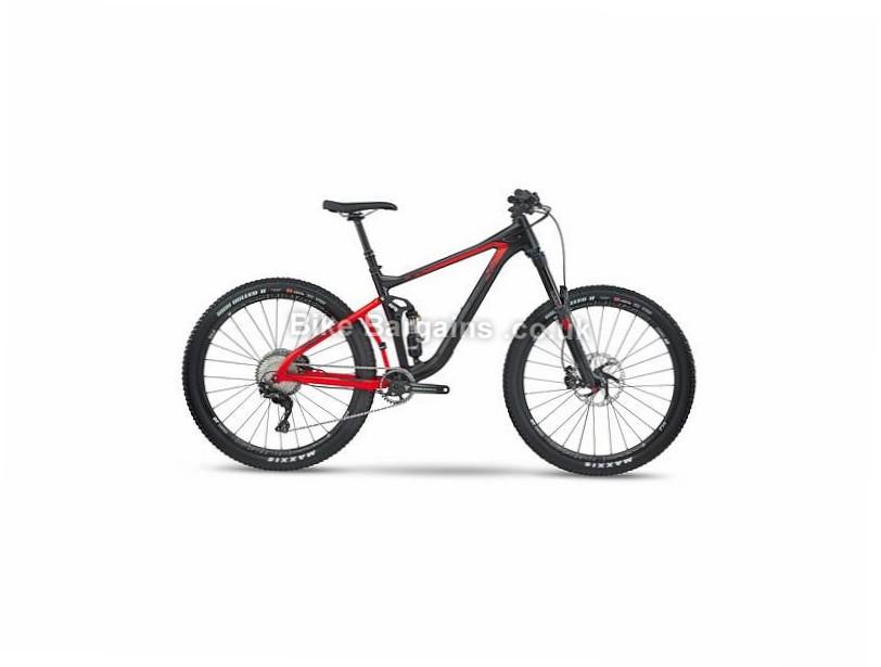 BMC Speedfox SF02 Trailcrew XT Alloy Full Suspension Mountain Bike 2017 Black, Red, L