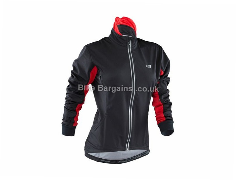 Bellwether Coldfront Ladies Jacket 2016 L, Black, Red, Women's, Long Sleeve