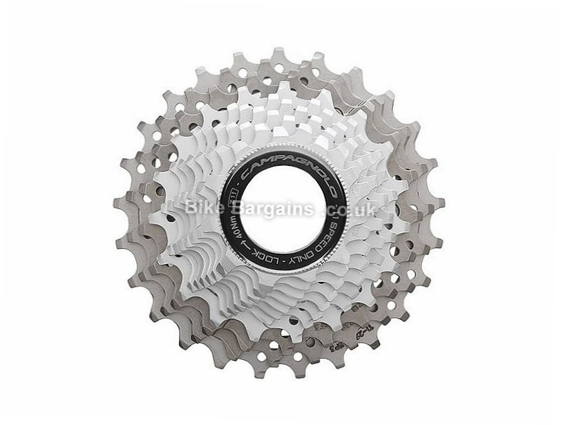Campagnolo Record 11 Speed Cassette 201g, 11 Speed, Road, Silver