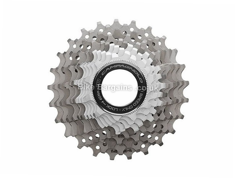 Campagnolo Super Record 11 Speed Cassette 177g, 11 Speed, Road, Silver