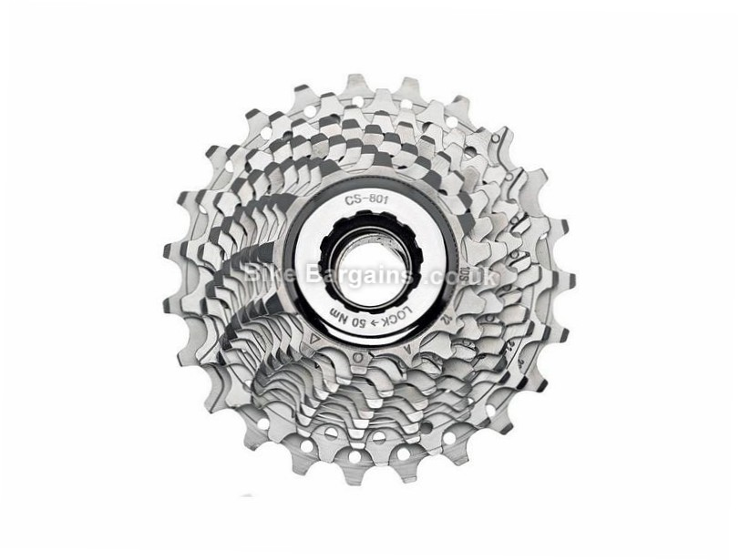 Campagnolo Veloce 10 Speed Cassette 250g, 10 Speed, Road, Silver