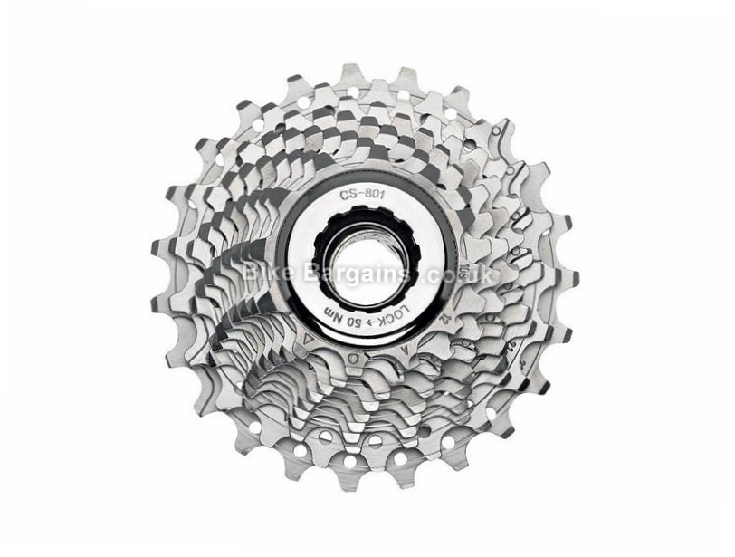 Campagnolo Veloce 9 Speed Cassette 250g, 9 Speed, Road, Silver
