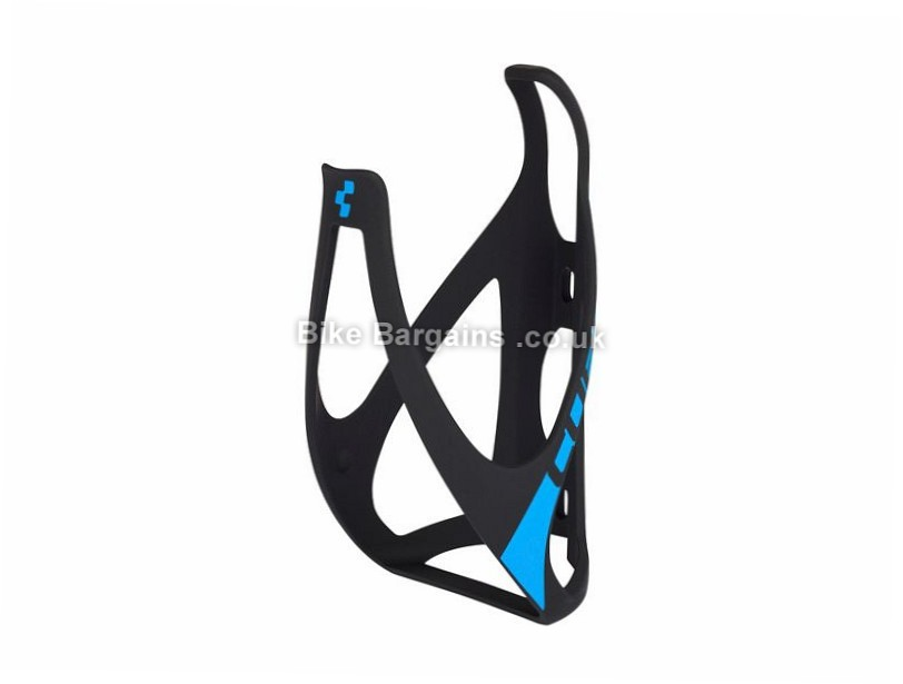 Cube HPP Water Bottle Cage Plastic, Black, White, Green, Red, Blue, 36g