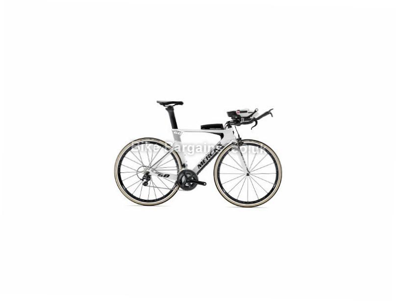 Eddy Merckx Lugano 68 105 Carbon Time Trial Road Bike 2018 White, Black, Silver, S, M, L