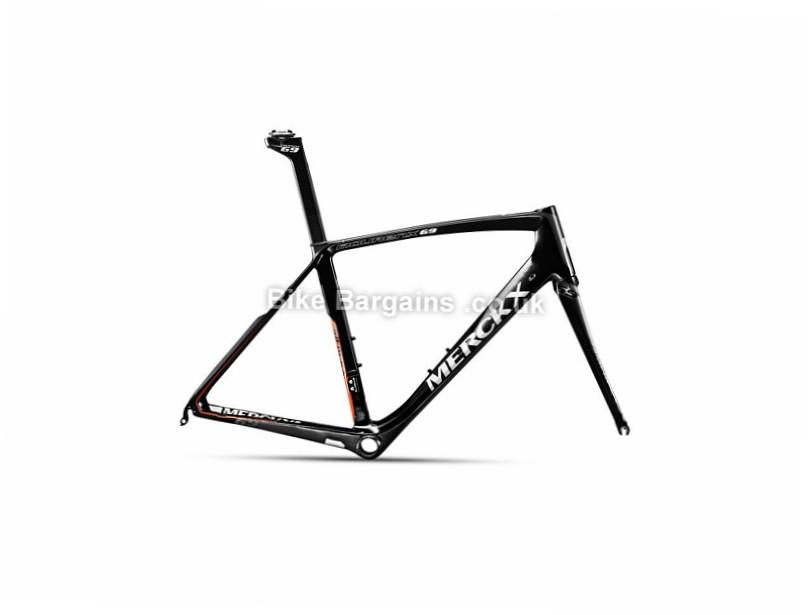 Eddy Merckx Mourenx 69 Carbon Caliper Road Frameset 2017 XXL, Black, Carbon, Caliper Brakes, 700c