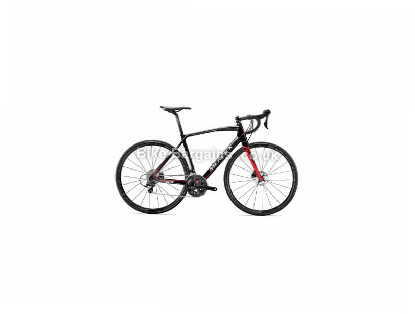 Eddy Merckx Sallanches 64 Disc 105 Carbon Road Bike 2017 XS, Black, Red, Silver, Carbon, Disc, 11 speed, 700c
