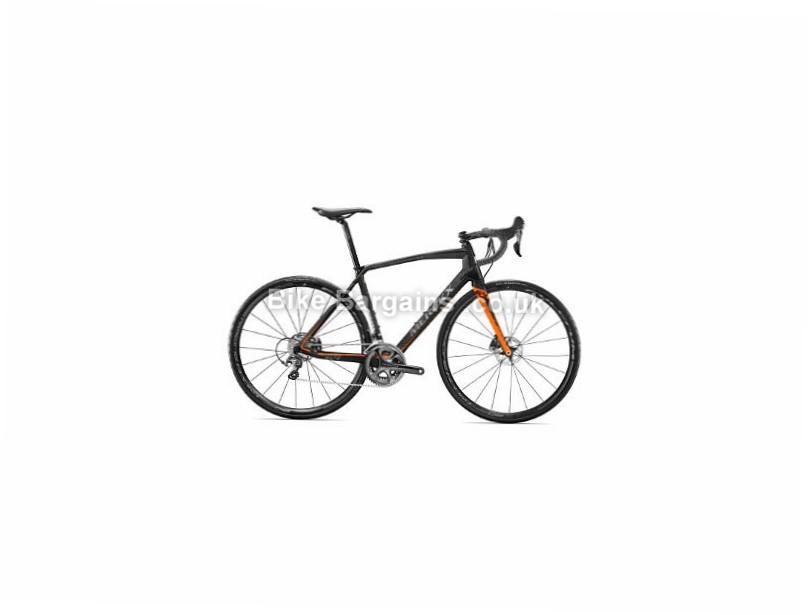 Eddy Merckx Sallanches 64 Disc Ultegra Carbon Road Bike 2017 Black, Silver, S