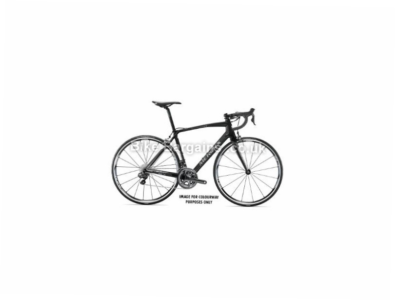 Eddy Merckx Sallanches 64 105 Carbon Road Bike 2017 Black, Silver, S