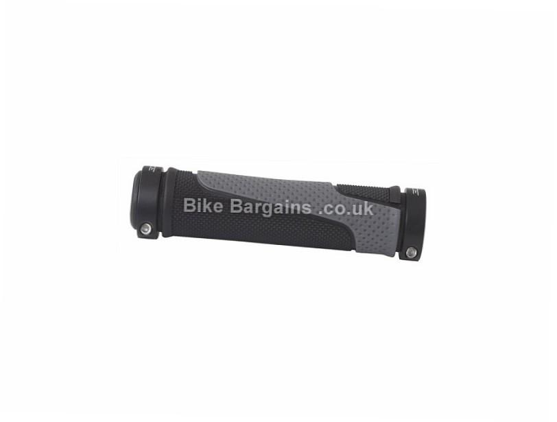 Force Ross Lock-On MTB Grips 125mm, 99g, Black