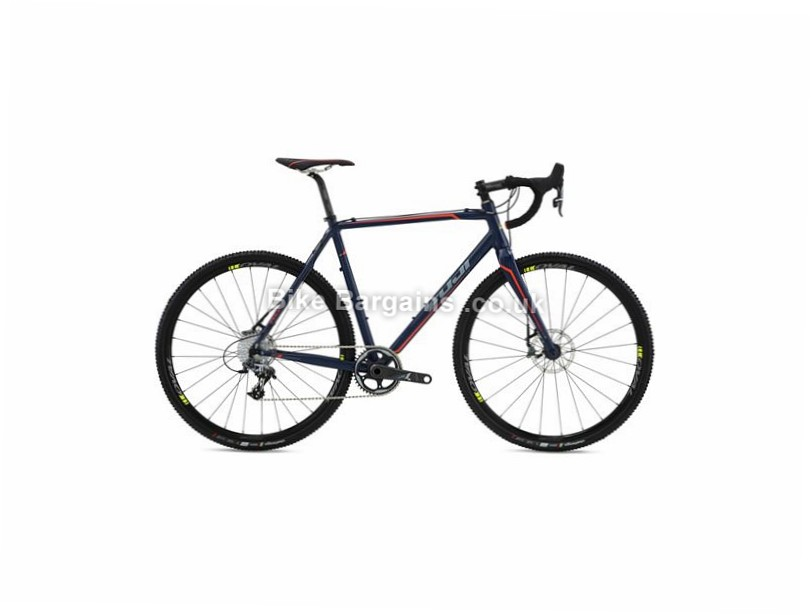 Fuji Cross 1.1 Alloy Road Cyclo Cross Bike 2016 50cm, 52cm, 58cm, Blue, 22 Speed, 27 Speed, Alloy