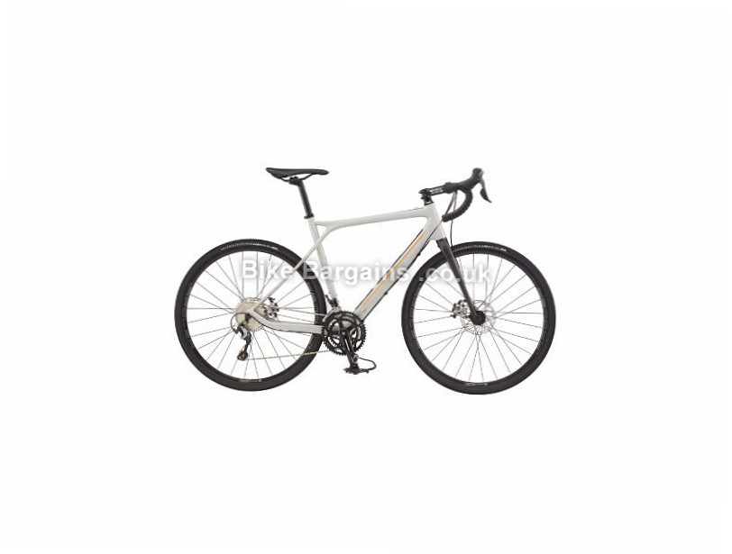 GT Grade Tiagra Adventure Carbon Road Bike 2017 Grey, 58cm