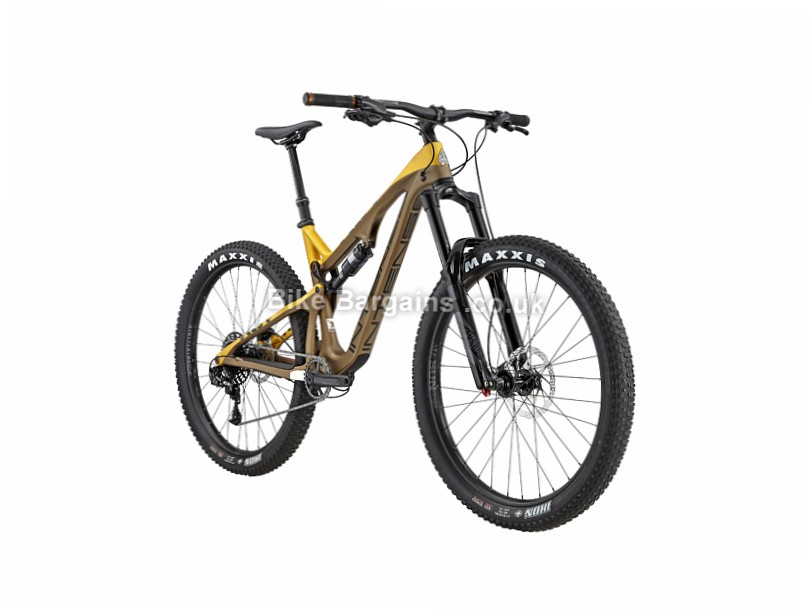 "Intense ACV Foundation Build 27.5"" Carbon Full Suspension Mountain Bike 2017 Brown, L"
