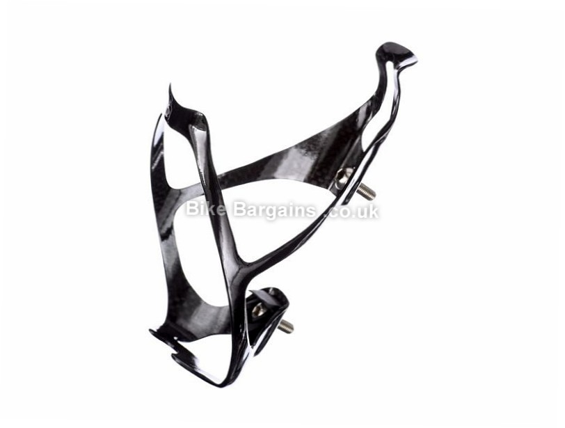 LifeLine Carbon Water Bottle Cage Carbon, Black, 18g