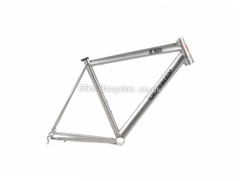 Lynskey R460 Disc Titanium Road Bike Frame 54cm, Silver