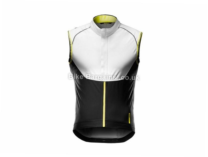Mavic Vision H2O Gilet S, White, Black, Yellow