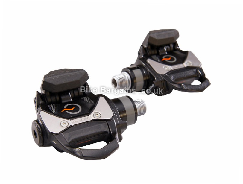 PowerTap P1S Power Meter Pedals Black, single sided, 398g