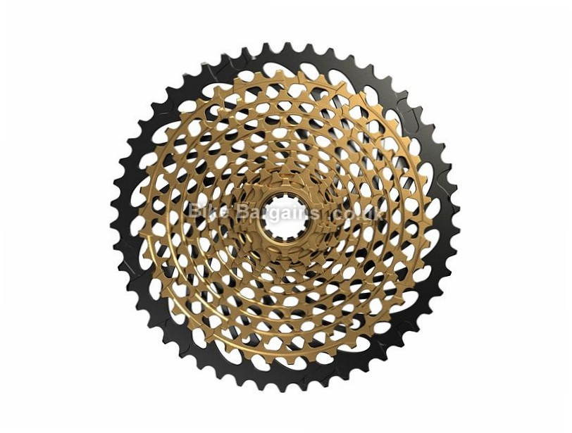 SRAM XG-1299 Eagle 12 Speed Cassette 355g, 12 Speed, MTB, Road, Gold