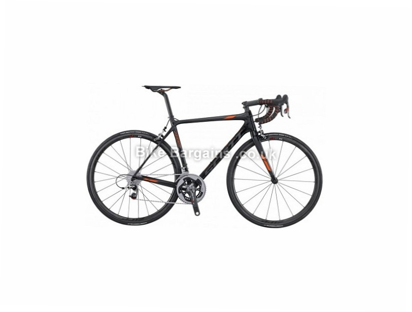 Scott Addict SL Carbon Road Bike 2016 L, Black