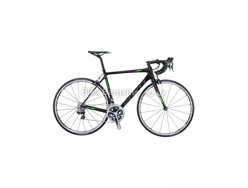 Scott Addict Team Issue Dura Ace Di2 Carbon Road Bike 2016 54cm, Black, Carbon, Calipers, 11 speed, 700c, 6.28kg