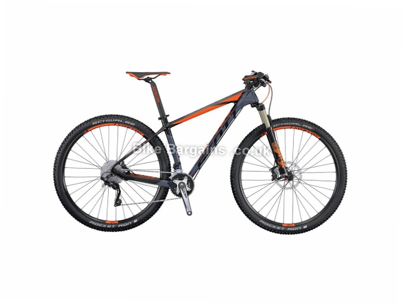 Scott Scale 730 Carbon Hardtail Mountain Bike 2016 Grey, M