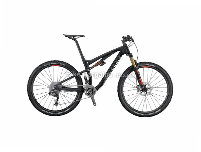 Scott Spark 700 Ultimate Carbon Full Suspension Mountain Bike 2016 L, Black
