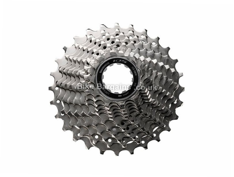 Shimano 105 5800 11 Speed Cassette 276g, 11 Speed, Road, Silver