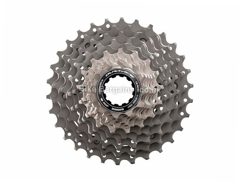 Shimano Dura-Ace R9100 11 Speed Cassette 205g, 11 Speed, Road, Silver
