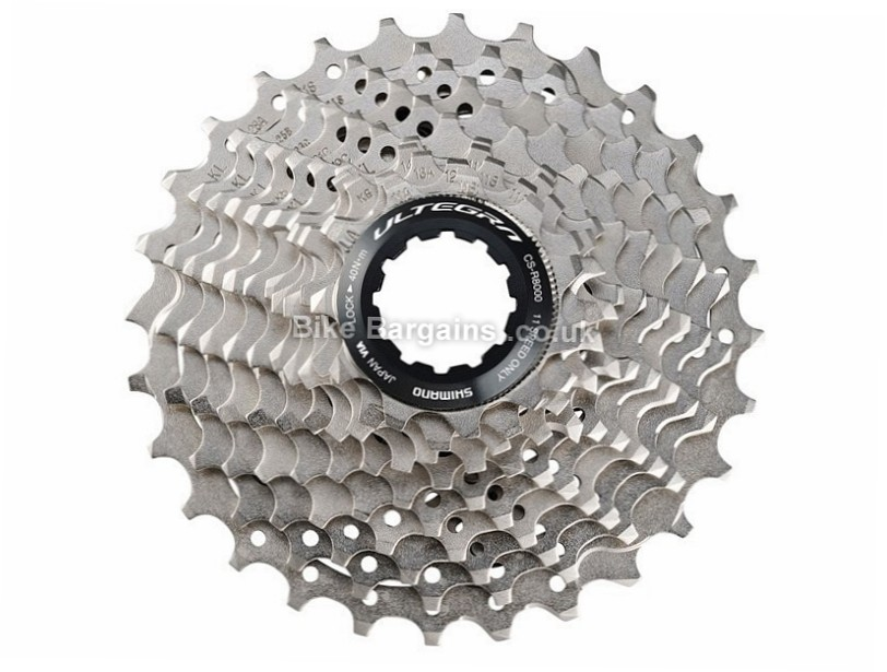 Shimano HG800 11 Speed Cassette 447g, 11 Speed, Road, Silver