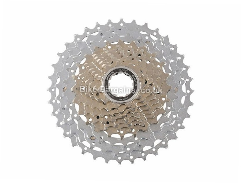 Shimano SLX HG81 10 Speed Cassette 351g, 10 Speed, MTB, Silver