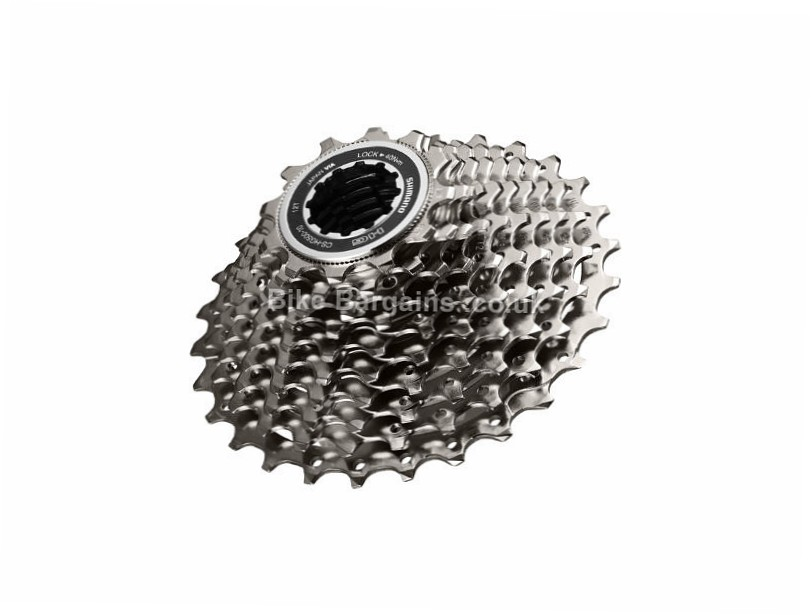 Shimano Tiagra 4700 10 Speed Cassette 350g, 10 Speed, Road, Grey
