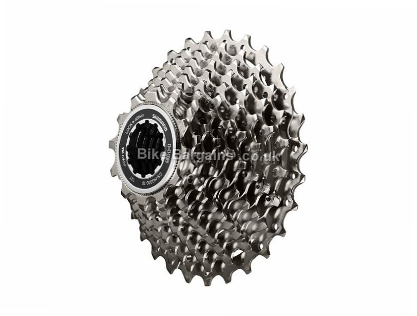 Shimano Tiagra HG500 10 Speed Cassette 350g, 10 Speed, Road, Silver