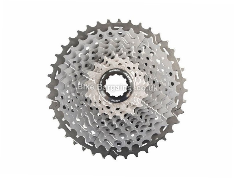 Shimano XTR M9001 11 Speed Cassette 331g, 11 Speed, MTB, Silver